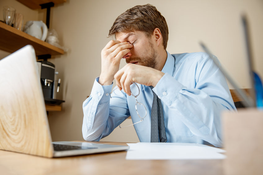 headache in the workplace